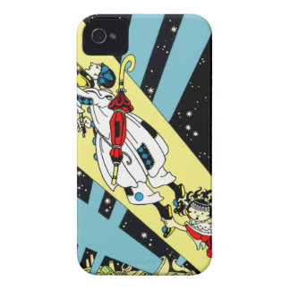 Viperetta Flies to the Moon iPhone 4 Case-Mate Cases