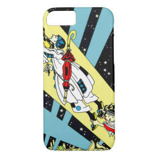 Viperetta Flies to the Moon iPhone 7 Case
