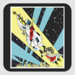 Viperetta Flies to the Moon Stickers