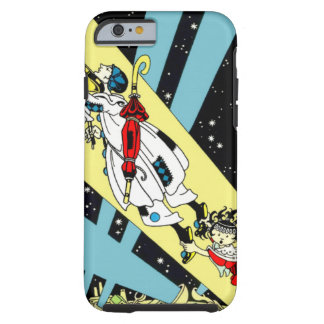 Viperetta Flies to the Moon Tough iPhone 6 Case