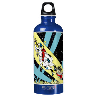 Viperetta Flies to the Moon Water Bottle