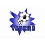 Vipers soccer postcard