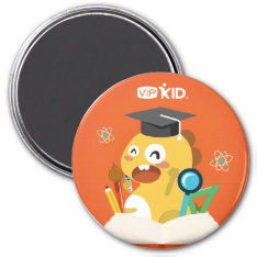 Vipkid Back To School Magnet 1 at Zazzle