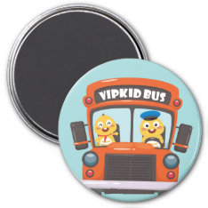 Vipkid Back To School Magnet 2 at Zazzle