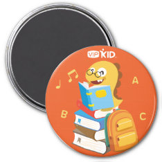 Vipkid Back To School Magnet 3 at Zazzle