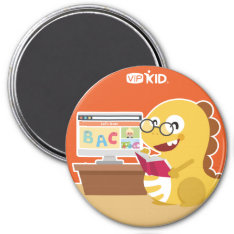 Vipkid Back To School Magnet 5 at Zazzle