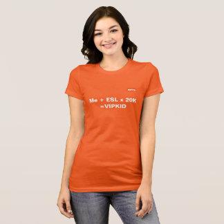 VIPKID Equation T-Shirt (orange)