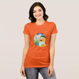 VIPKID France T-Shirt (orange)