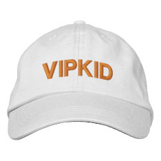 Vipkid Hat (white) at Zazzle