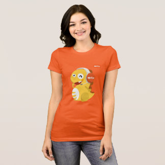 VIPKID Headset Dino T-Shirt (orange)