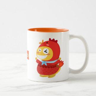 VIPKID Rooster Dino Mug