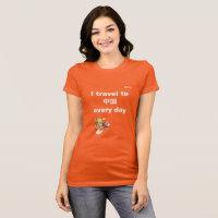 VIPKID Travel to China T-Shirt (orange)