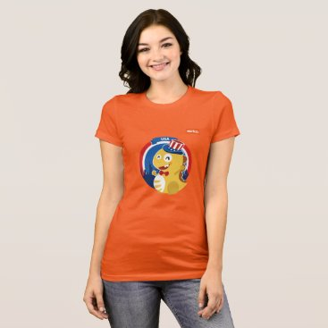 USA Themed VIPKID USA T-Shirt (orange)