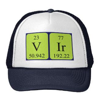 Vir periodic table name hat