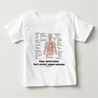 Viral Infections That Affect Homo Sapiens Baby T-Shirt