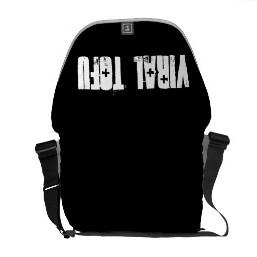 Viral Tofu Courier Bag