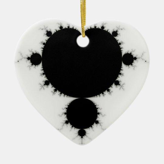 Viratarupa - Fractal Art Ceramic Ornament