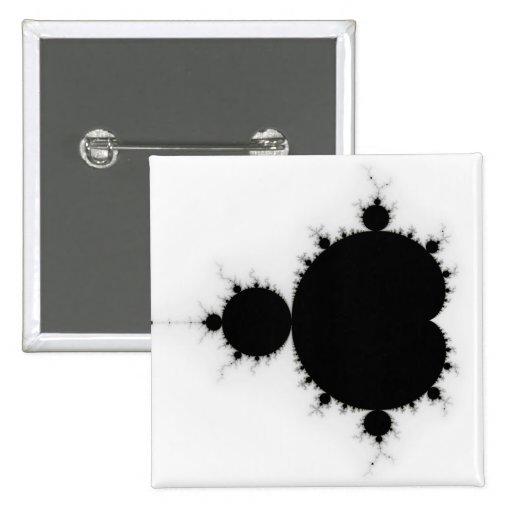 Viratarupa - Fractal Art Pinback Buttons