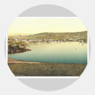 Vire a Erin hacia el lado de babor, visión desde Etiquetas Redondas