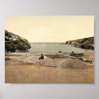Vire a Isaac hacia el lado de babor, puerto Gavern Póster