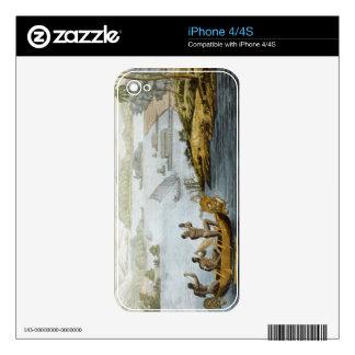 Vire Dury hacia el lado de babor, platee 75 de 'Le Calcomanías Para El iPhone 4S