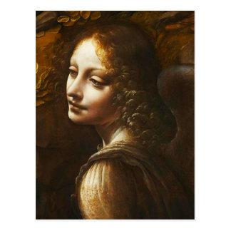Virgen de da Vinci de la postal del ángel de las r