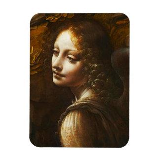 Virgen de da Vinci del imán del ángel de las rocas