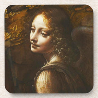 Virgen de da Vinci del práctico de costa del ángel Posavasos