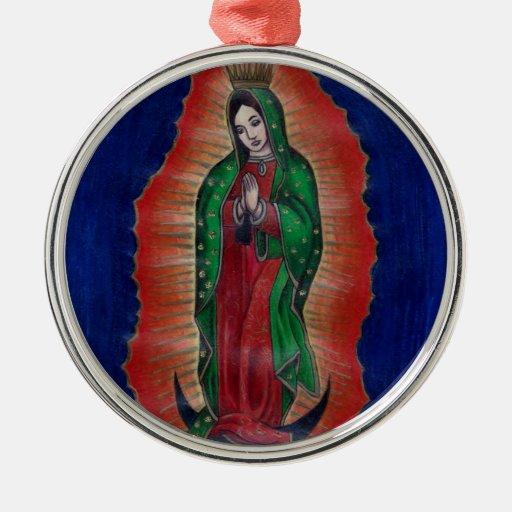 Virgen de Guadalupe Adorno De Navidad