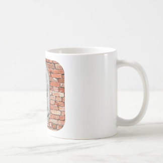 VIRGEN DE GUADALUPE  BYW  LADRILLO CUSTOMIZABLE COFFEE MUG