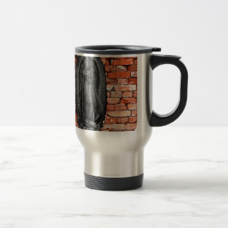 VIRGEN DE GUADALUPE  BYW LADRILLO CUSTOMIZABLE TRAVEL MUG