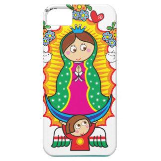 VIRGEN DE GUADALUPE CARICATURA 01 CUSTOMIZABLE PRO iPhone 5/5S COVERS