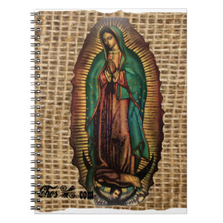VIRGEN DE GUADALUPE COLOR CUSTOMIZABLE PRODUCTS NOTE BOOK