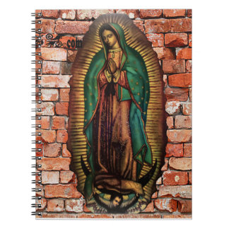 VIRGEN DE GUADALUPE COLOR CUSTOMIZABLE PRODUCTS SPIRAL NOTE BOOKS