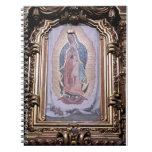 Virgen de Guadalupe Libretas Espirales