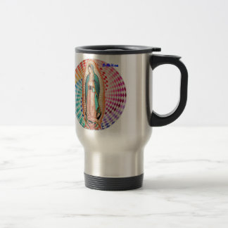 VIRGEN DE GUADALUPE MULTICO CUSTOMIZABLE PRODUCTS TRAVEL MUG