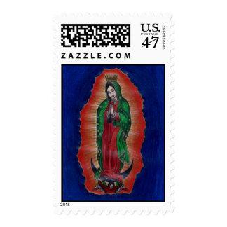 Virgen de Guadalupe Postage Stamps