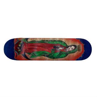 Virgen de Guadalupe Skateboard