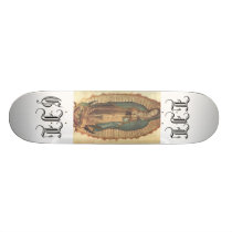 Virgen de guadalupe skateboard deck