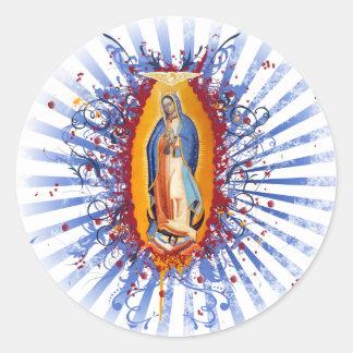 Virgen de Guadalupe Stickers