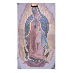 Virgen de Guadalupe Tarjeta De Negocio