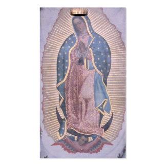 Virgen de Guadalupe Tarjetas De Visita