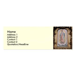 Virgen de Guadalupe Tarjetas De Visita Mini