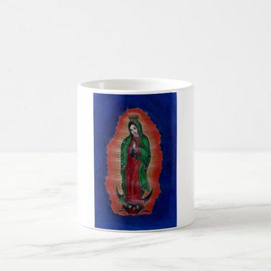 Virgen de Guadalupe Taza De Café