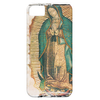 Virgen de Guadalupe (traditional) iPhone 5 Covers