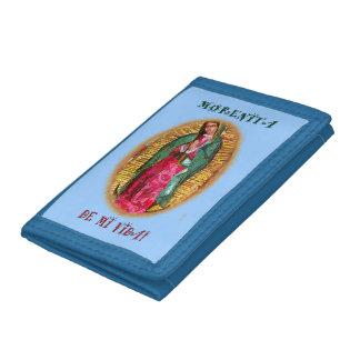 Virgen De Guadalupe Wallet/ Virgen Morena/ Mexico Trifold Wallet