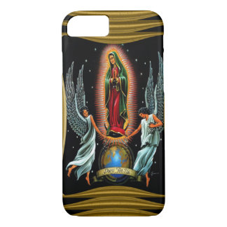 Virgen de Guadalupe (with angels) iPhone 8/7 Case