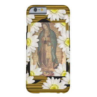 Virgen de Guadalupe (with daisies) Barely There iPhone 6 Case