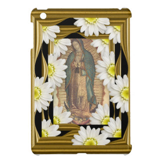 Virgen de Guadalupe (with daisies) iPad Mini Case