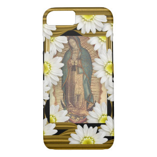 Virgen de Guadalupe (with daisies) iPhone 8/7 Case